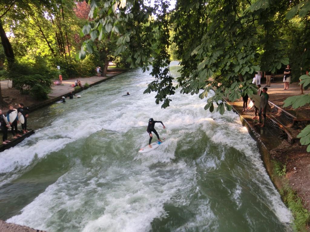 Eisbach München