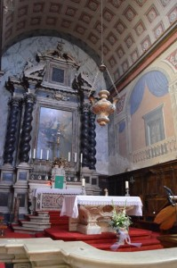 Ajaccio Kirche Altar