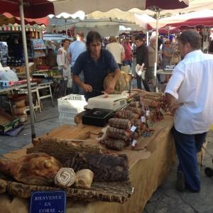 Ajaccio Markt