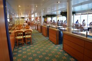 Büffetrestaurant Deck 11