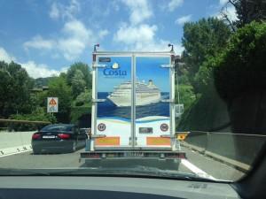 Werbung Costa Kreuzfahrten